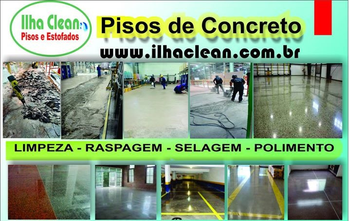 Piso de Concreto Ilha Clean