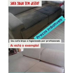 Sofa Sujo Ilha Clean Resolve