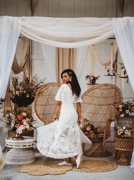 Modern Boho Styled Wedding Shoot | Boxed and Burlap