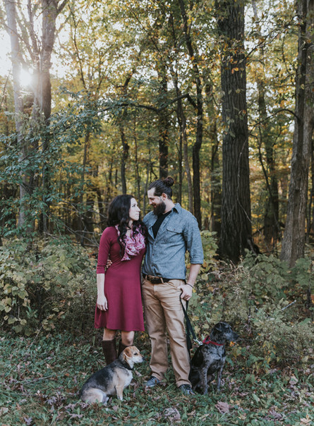 Alicia + Mike |Chicago Suburb Engagement Session