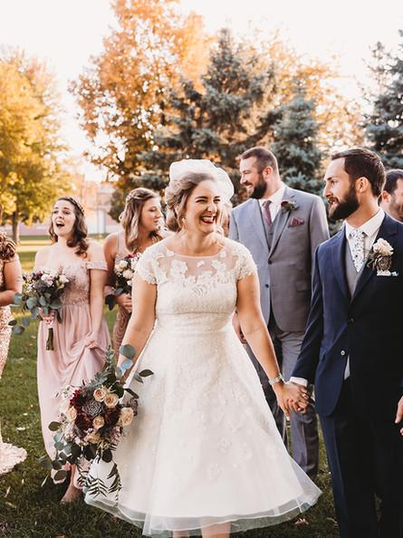 Madeline + Tim | Masonic Center Wedding | Oshkosh, WI