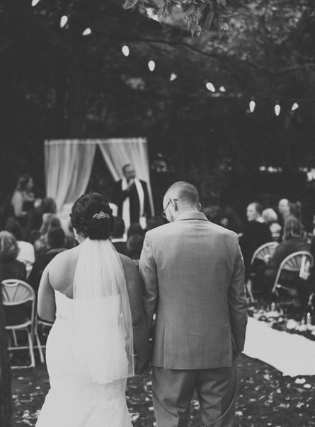 Nicole + Xan | Backyard Wedding | Neenah Wisconsin