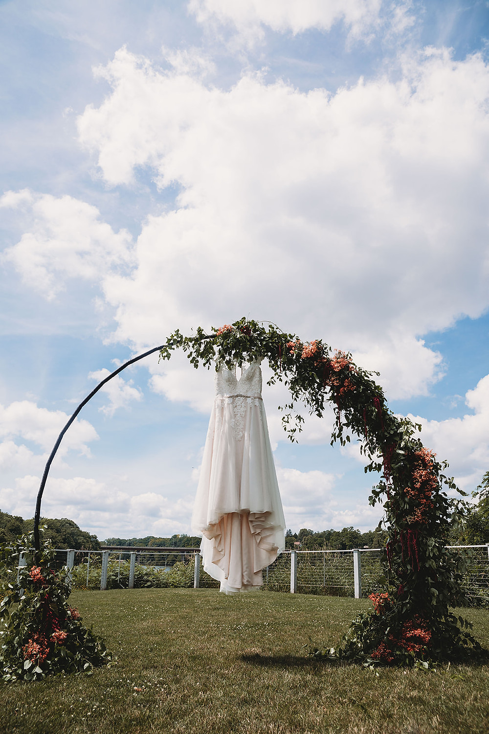 Stone Arch at Riverview Gardens Wedding Ebb and Flow