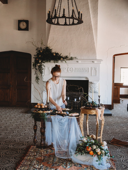 The Howard Styled Shoot | Behind the Scenes