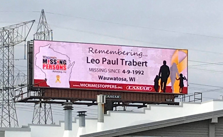 wisconsin missing persons billboard campaign