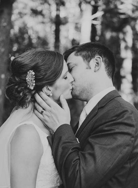 Whitney + Dan | Camp Helen Brachman Wedding | Almond Wisconsin