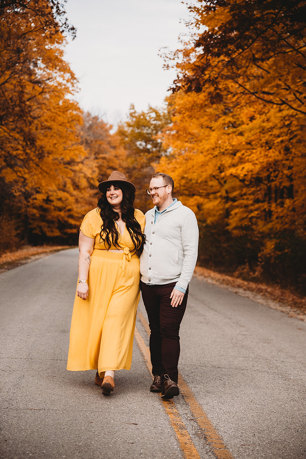 High Cliff State Park Engagement Session, Sherwood Wisconsin