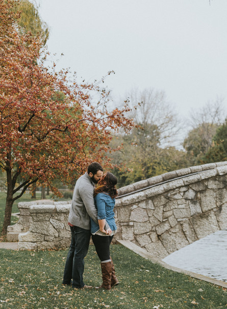 Alex + Kelsey | Neenah Wisconsin Engagement Session