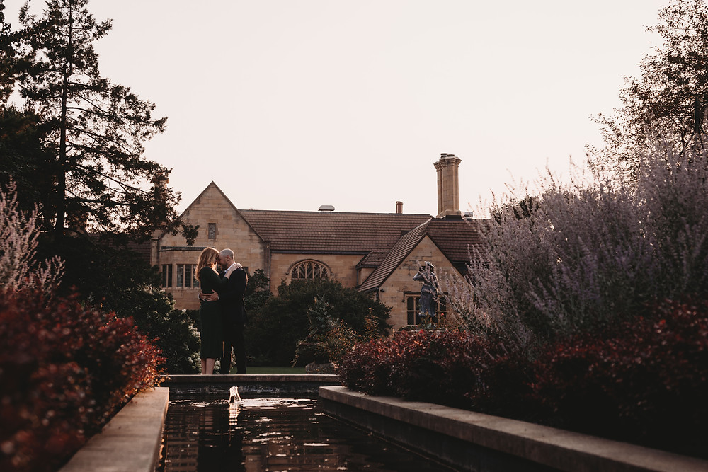 The Paine Art Center and Gardens Engagement Session