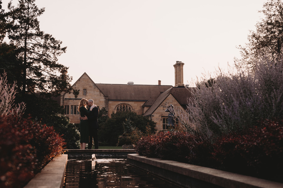 Jessica + John  |  The Paine Art Center and Gardens  |  Engagement Session