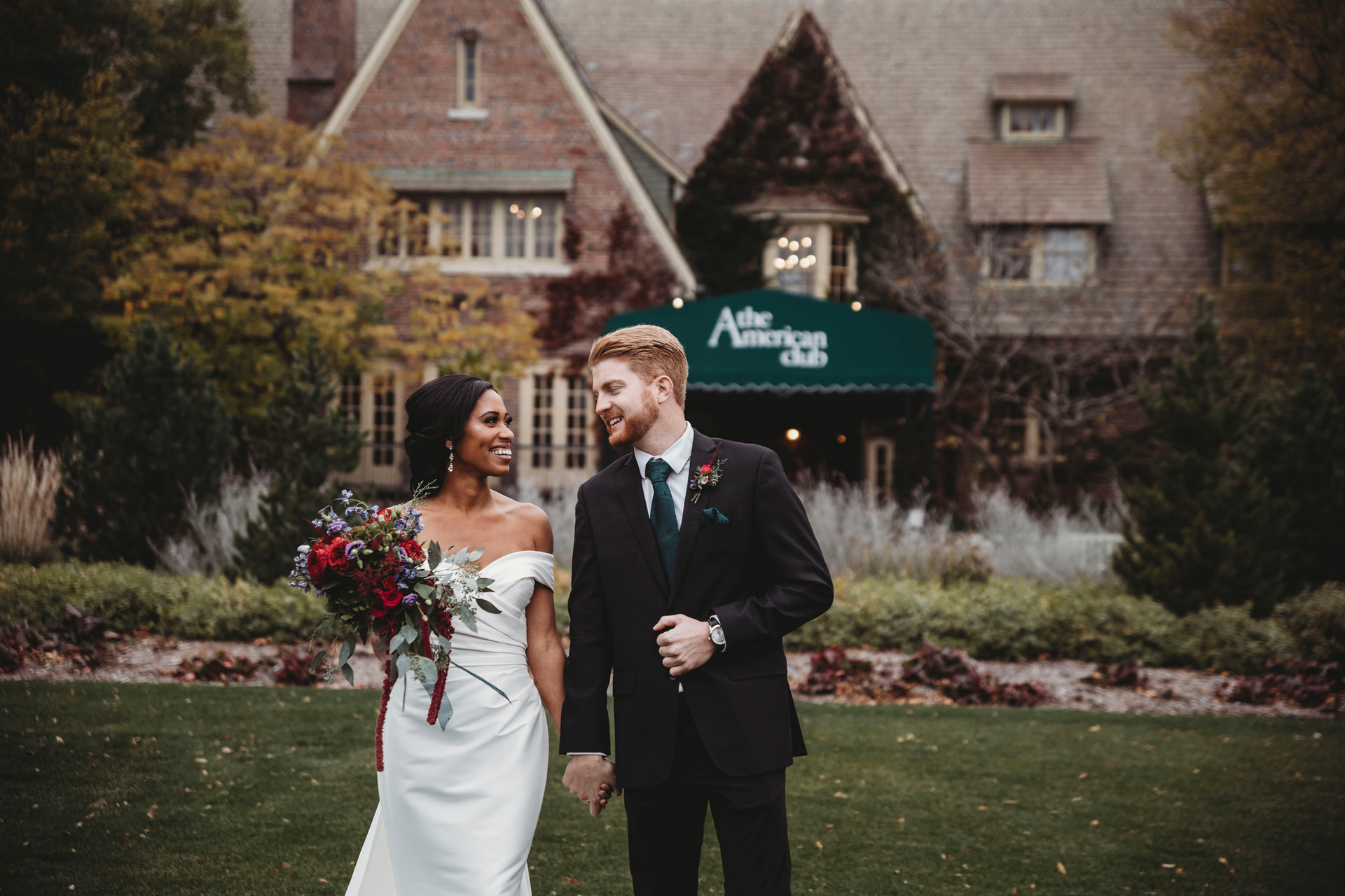 the amercian club kohler wedding