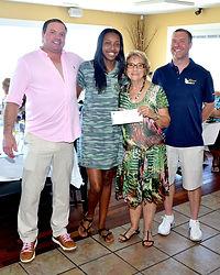 L-R Steve Cook, Jonaysha Douglas, Jean H