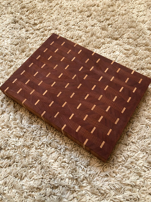 Mahogany Dashes Cutting Board