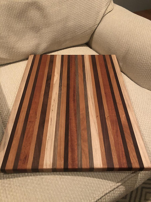 Symmetrical Stripes Cheese Board