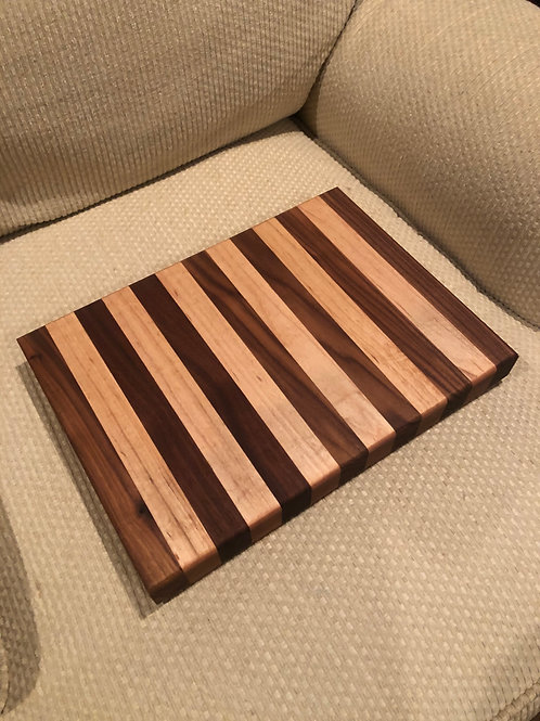 Maple and Walnut Striped Board