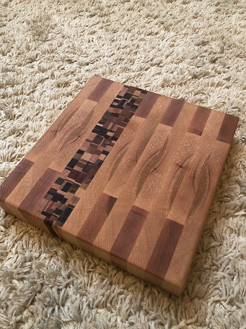 Chaotic Strip Cutting Board