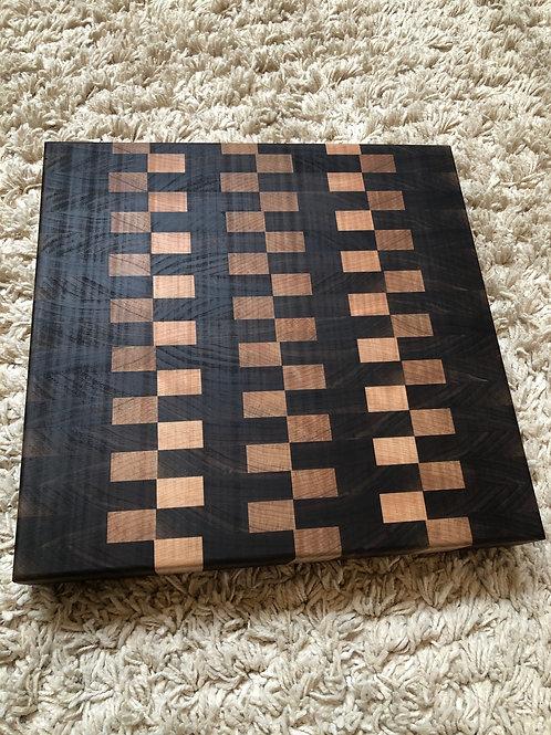 Half Checker Board Cutting Board