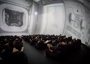 "Immersive work ""Sphere"" by Robot Koch"