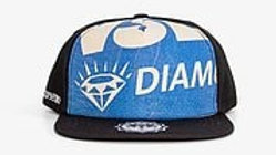 Recycling Snapback - Blue Diamond