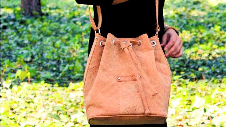Recycling Design - Selina Crossbody Bag - Natural - Vegan - Individuell