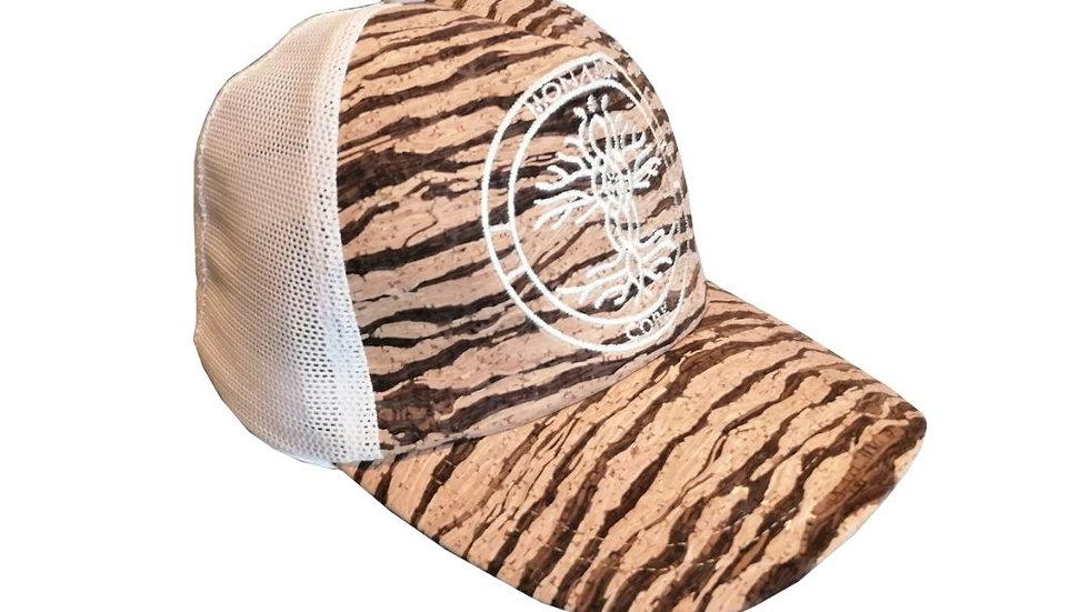 eco sport - cork cap - zebra white