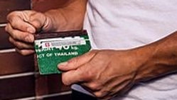 Card Holder - Green Full - individuell