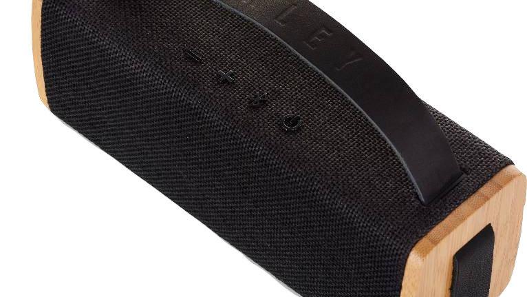 Riddim Portable BT - Schwarz/Bambus
