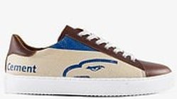 Recycling Sneaker Low - Blue Eagle