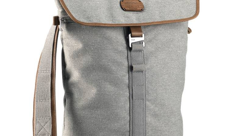 Lively Up Leather Backpack - Saddle