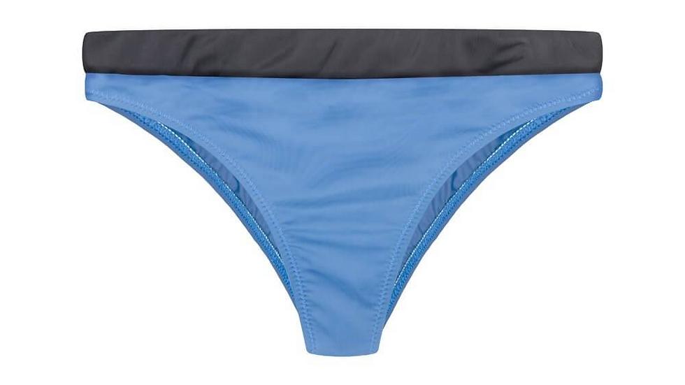 Eco Bikini Hose Blau - Schwarz