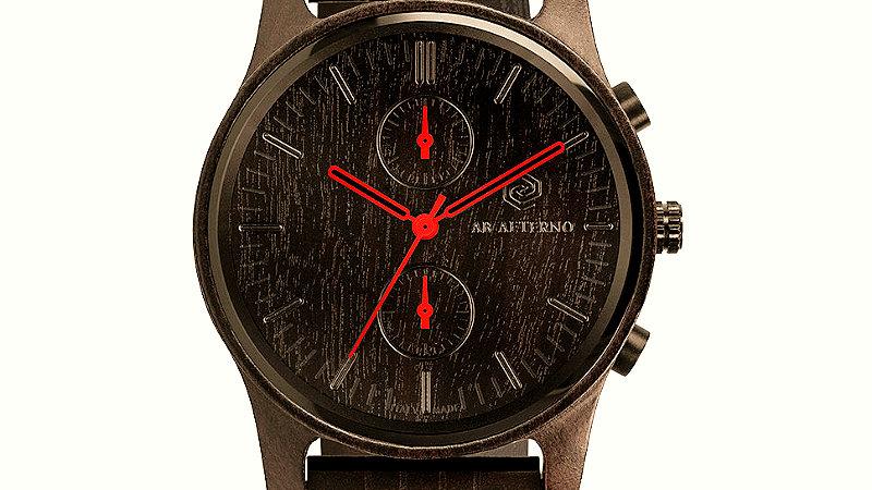 Enigma Armbanduhr - Rot