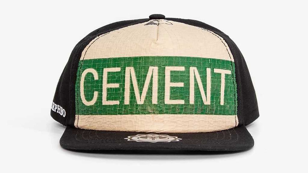 Recycled Snapback - Green Cement