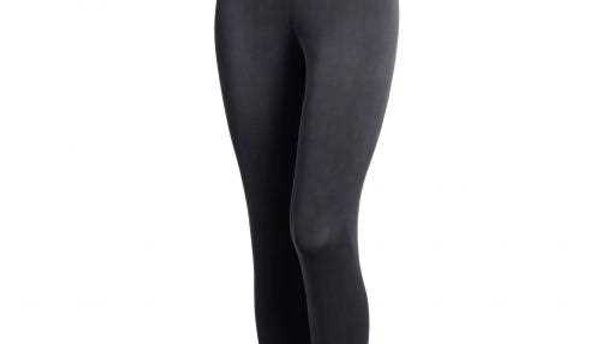 Ankle Long Tights - Black
