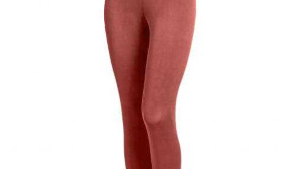 Ankle Long Tights - Red