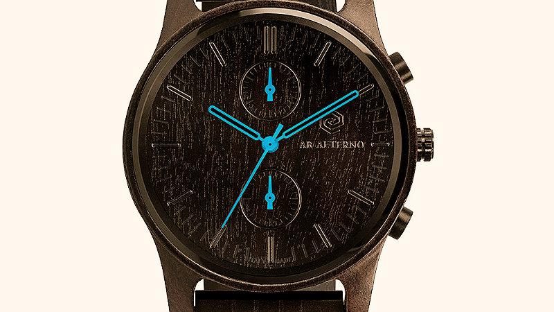 Enigma Armbanduhr - Hellblau