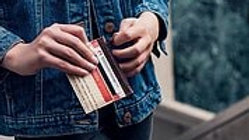 Elephbo - Card Holder - Red Medium