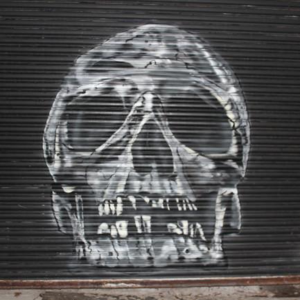 Hidden graffiti 'locked' away beneath the ageing Laindon Centre revealed