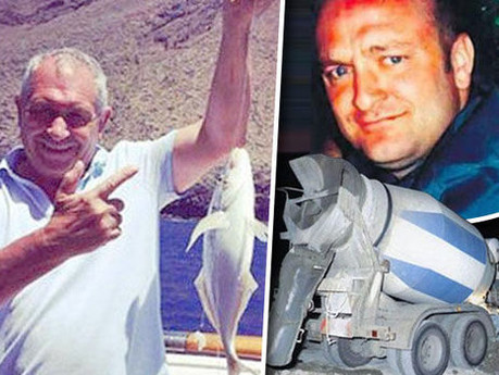Police who 'botched' John Palmer murder probe accused of 'cement mixer death cover up&#3