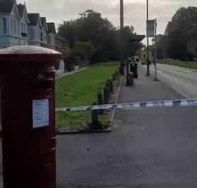 Murder detectives investigate after man's burning body is found in street