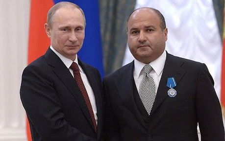 EXCLUSIVE: Court case involving Russian billionaire is shrouded in secrecy... Putin wants Georgy Bed