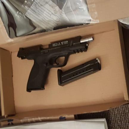 Four guns and cannabis farm found in 'UK FBI' Essex coastal town raids