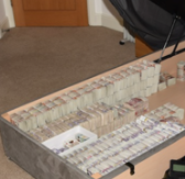 ENCROCHAT HACK: £1.6m found hidden inside bed - cash confiscated as court disclosure row continues