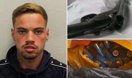 ARMED AND DANGEROUS: Man nabbed picking up sawn-off shotgun and ammo in carrier bag