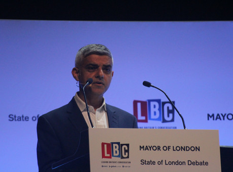 "SADIQ KHAN: London Mayor says violent crime is an ""infection"" but we are ""slowly winn"