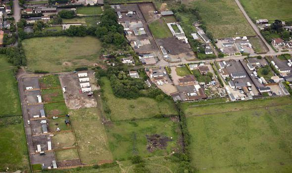 Hovefields traveller site