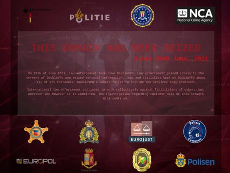 DOUBLEVPN TAKEDOWN: Cyber criminals dealt bitter blow as 'fraud masking VPN service' seized
