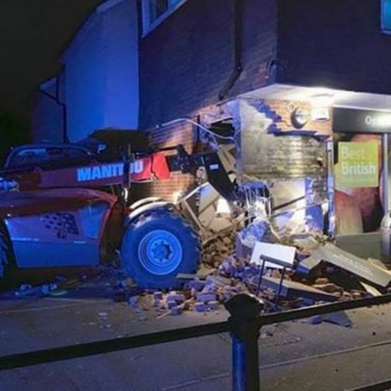 Brazen cash point explosion raid in Epping 'not linked' to spate of ATM ramraids across East