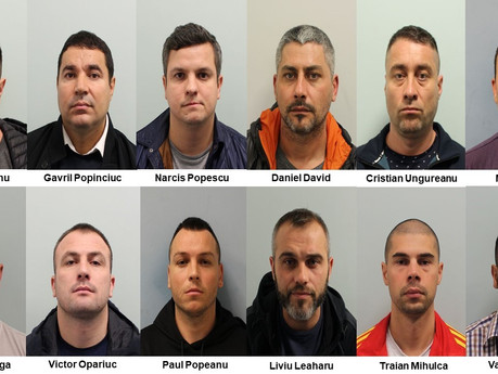 CLAMPARU CRIME NETWORK: Twelve Romanians flown in for £4.5m burglary spree jailed