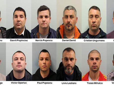 CLAMPARU CRIME NETWORK: Twelve Romanians flown in for £4.5m burglary spree jailed