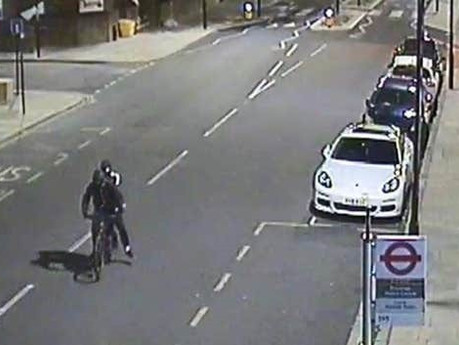 Who are two men on bike? Could they hold the key to solving the murder of Kamal Nuur
